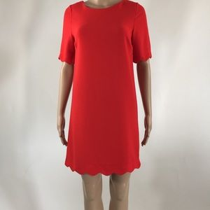 Monteau Red Dress Size Small